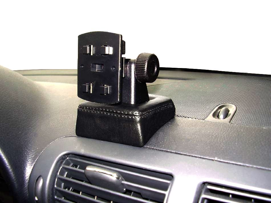 2001-02//2007 Echtleder Telefon Konsole für Mercedes-Benz C-Klasse W203 Bj